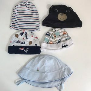 5/$5 set of 5 hats kids